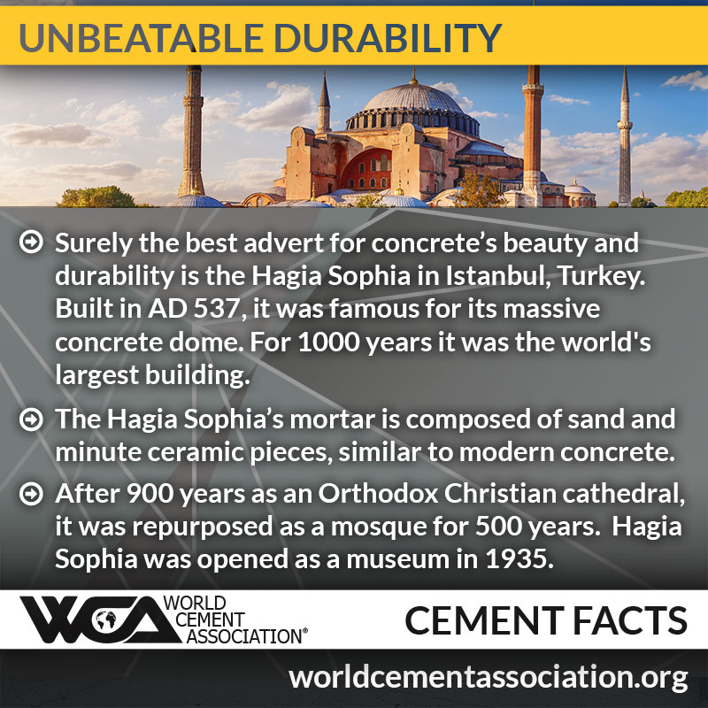 Concrete: unbeatable durability