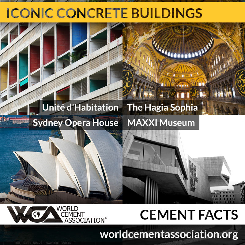 Iconic Concrete Buildings
